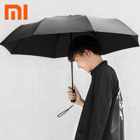 Automático para Dias Ensolarados e Chuvosos Solar-sombreamento de Calor-isolamento Original Xiaomi Mijia Inteligente Guarda-chuva Luz Anti-uv Automático