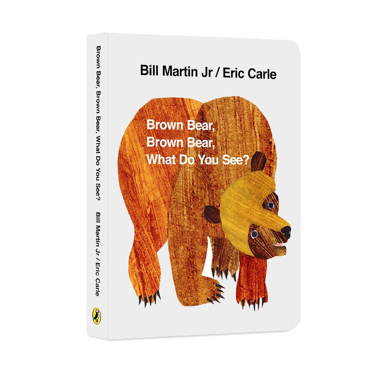 Original English Eric Carle Classic Picture Book For Baby Brown Bear Brown Bear What Do You See ? English Books For Children