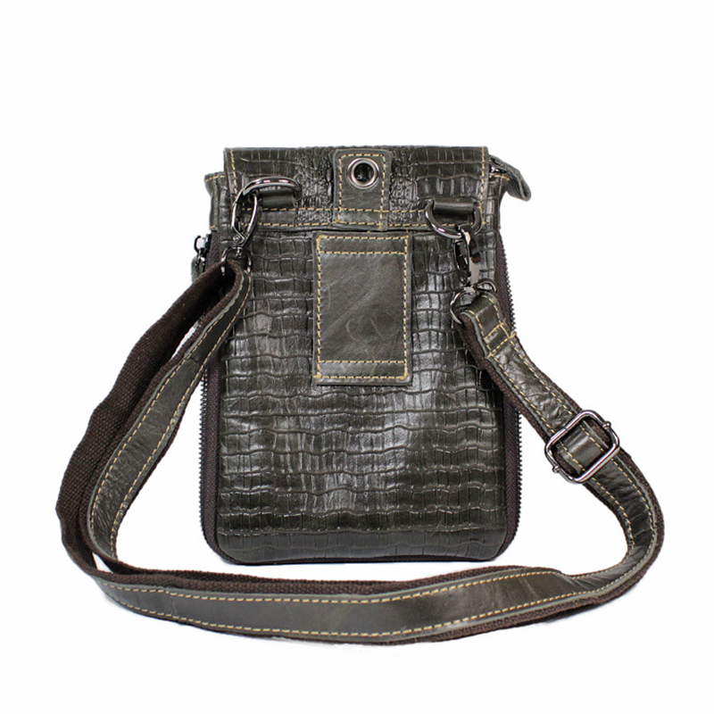 ФОТО female men's phone genuine Oil wax greased leather cowhide travel crossbody Shoulder hand messenger tote shopping everyday Bags
