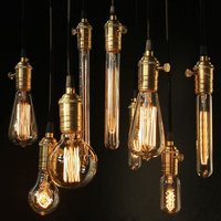 Lightinbox 12 PACK Vintage Light Bulb Filament E27 Edison Style Squirrel Cage