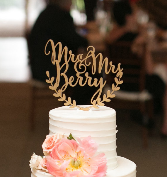 Personalized Wedding Cake Topper Custom Names Personalized Name With
