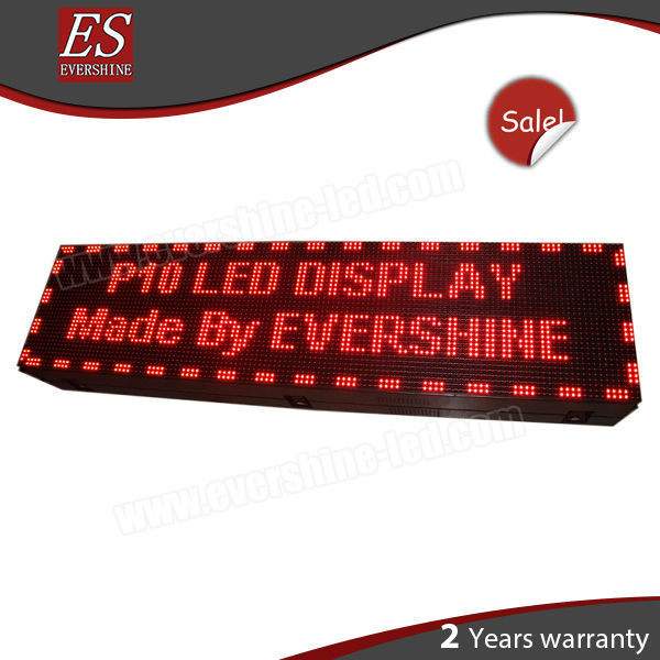 Front Open Waterproof Outdoor LED Screen Sign Show Text.Logo Best Price
