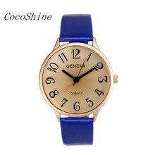 Women Female Wrist Watch Moment Clock Faux Leather Analog Quartz Watches Fashion Gifts Wholesale Dropshipping #20