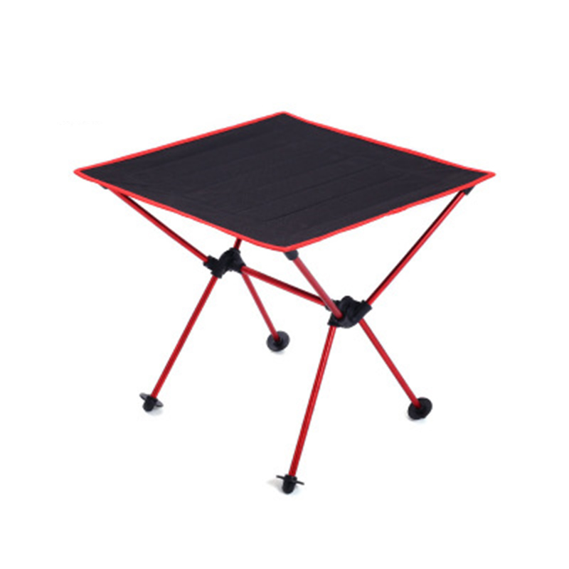 Outdoor Camping Folding Table Camping Aluminium Alloy Picnic Table Waterproof 600DOxford Durable Folding Table Desk For Picnic enmayer fashion summer shoes woman high heels wedges sansals women hook