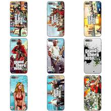 Grand Theft Auto Gta Gta V For Xiaomi Redmi Note 2 3 4 4A 4X 5 5A 6 6A 7 Go Plus Pro S2 Y2 TPU Luxury(China)