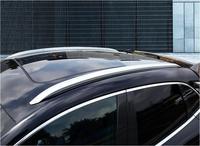 알루미늄 합금 자동차 지붕 랙 수하물 수하물 바 포르쉐 마판 2014 2015 2016 2017 2018 2019 (블랙 실버)