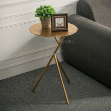 Modern Design Gold Silver White Black color Metal Side table, fashion popular coffee table, metal loft table, small corner table