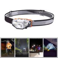 Sunrex Charger Sensor Headlamp Outdoor Headset Flashlight for Outdoor Hiking Camping WWO66