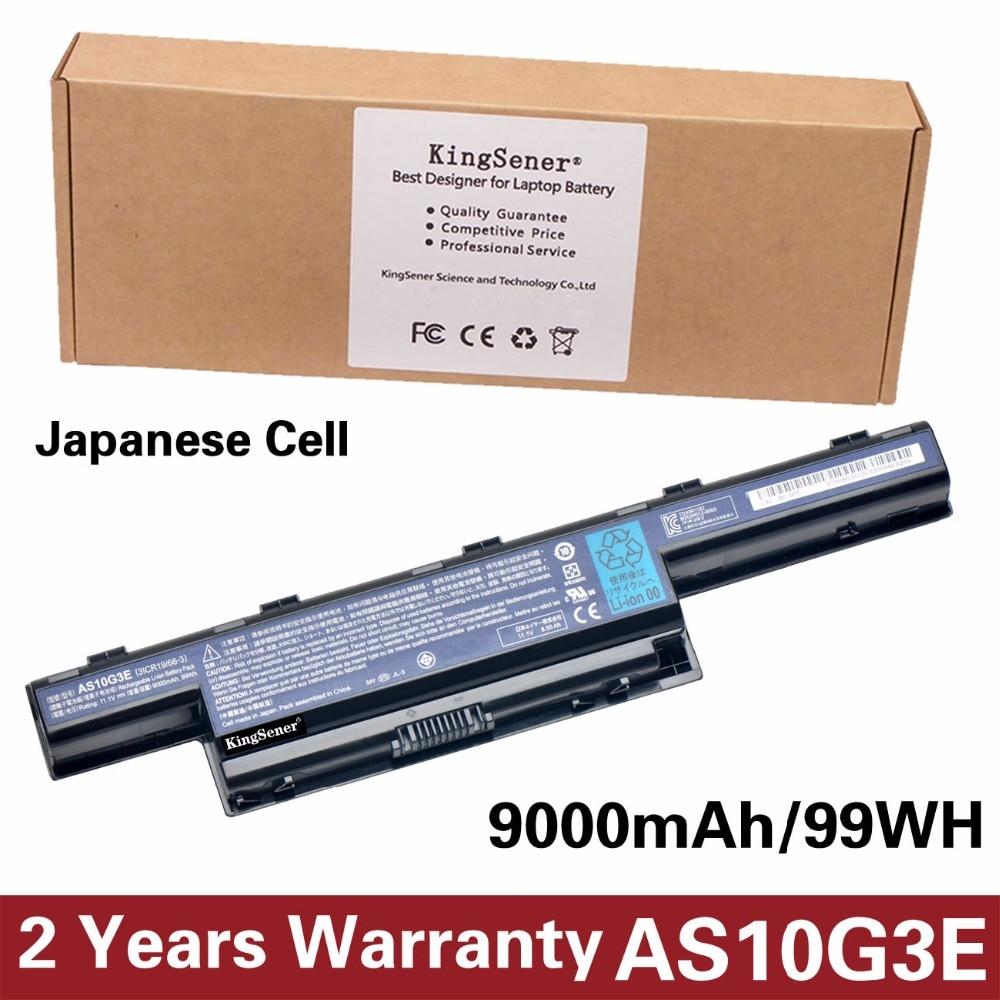 11.1V 9000mAh Japanese Cell AS10G3E Battery for Acer 4741G 5741G 4738G 5560G 5750G 7551G 7560G AS10D5E AS10G3E AS10D31 AS10D51 7800mah battery for acer aspire 7741g 5551 5552 5551g 5560 5560g 5733 5733z 5741g 5741 as10d31 as10d51 as10d61 as10d71 as10d75