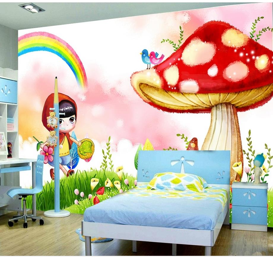 Home Decoration 3d Wall Murals Wallpaper For Kids Room Mushroom Photo Wall  Murals Wallpaper White Wallpaper Part 48