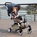 High landscape baby stroller can sit can lie summer bb car winter and summer amphibious super portable folding cart