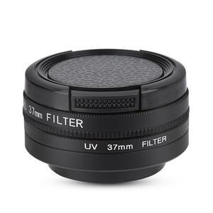 Image 1 - Bộ Lọc Ống Kính 37Mm CPL + UV Cho YI 4K Máy Camera Thể Thao Ống Kính Nắp Bảo Vệ Adapter Ring