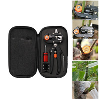 Grafting Machine with 2 Blades Tree Grafting Tools Secateurs Scissors Vaccination Cutting Pruner Tool Kit Set JA55