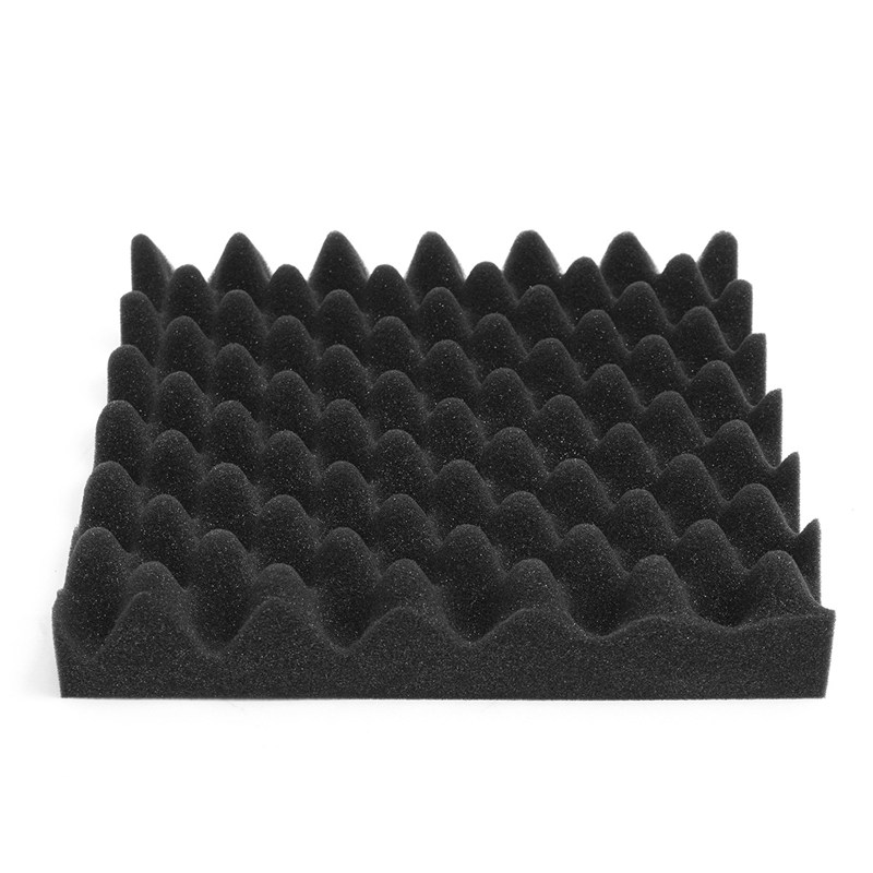 MTGATHER 8 PCS Acoustic Foam Studio Soundproofing Egg Crate Wall Wedge Tiles Control Room 30x30x6cm