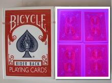 Магия покер домашнего индивидуальные велосипед 808 (красный) Перспектива карты покер, продаж перспектива контактные линзы, 88×63 мм, старая версия