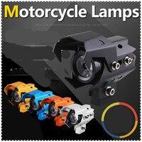 Dirtbike motocicleta farol led luzes de nevoeiro holofotes cabeça luz para ktm 505sxf 505xcf 525sx xc xcw 525 excr