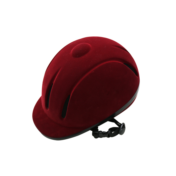 2017 Equestrian equipment hat horse riding helmet sports red safety hat freeshipping