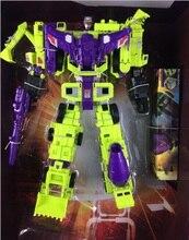 Transformação nenhuma caixa de varejo devastator defensor figura brinquedos
