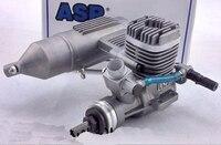 ASP три листа 61 градусов двигатель S61A/AII двухтактный 10CC 2000 18000 (r. p. м) для фиксированного крыла Модель двигателя самолета RC Запчасти