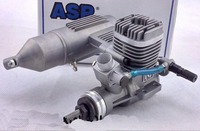ASP Three leaf 61 Degree Motor Engine S61A/AII Two Stroke 10CC 2,000 18,000(r.p.m) For Fixed Wing Engine Model Plane RC Parts