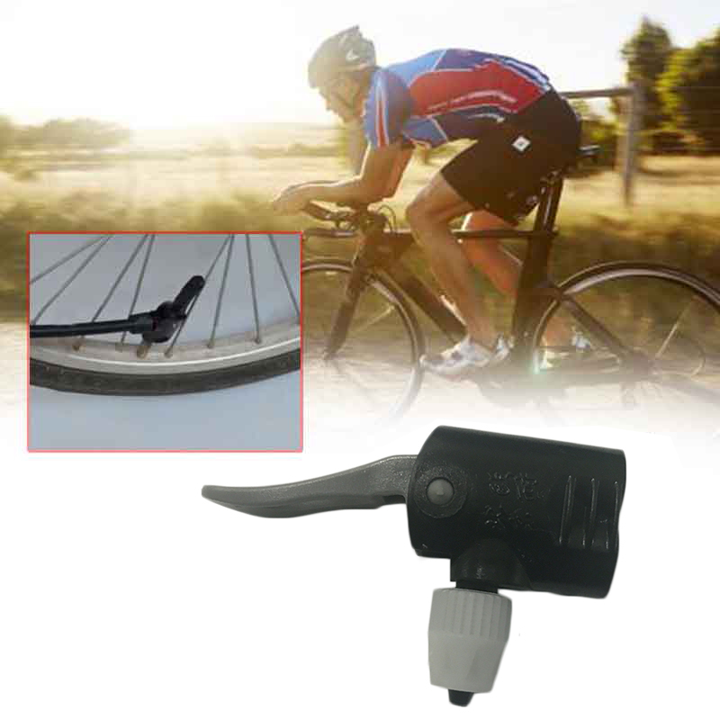 EYCI Bicycle Pump Nozzle Hose Adapter Dual Head Pumping Parts Service Accessories F/V A/V Cycling Presta Valve Convertor Bycicle ...