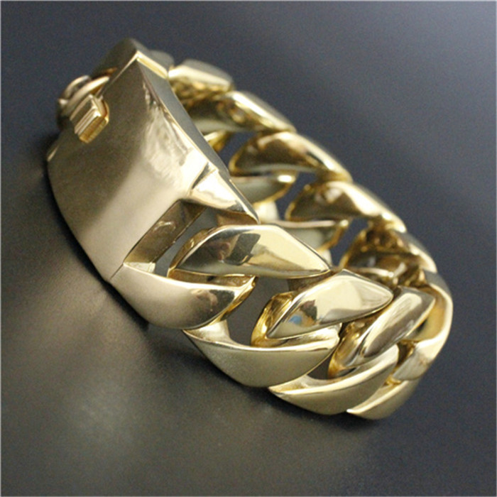 Amazing!! Band Party Cool Man Color Bracelet 316L Stainless Steel Hot Fashion Newest Punk Men Bracelet huosooyun 17