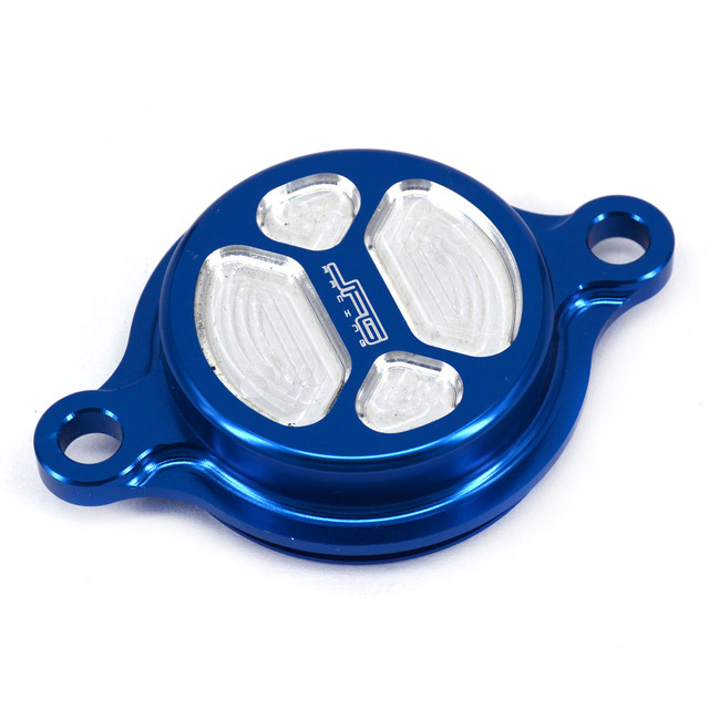 CNC Billet Oil Filter Cap Cover For YZ250F 14-16 YZ450F 10-16 YZ250FX 15-16 WR250F Motocross Dirt Bike