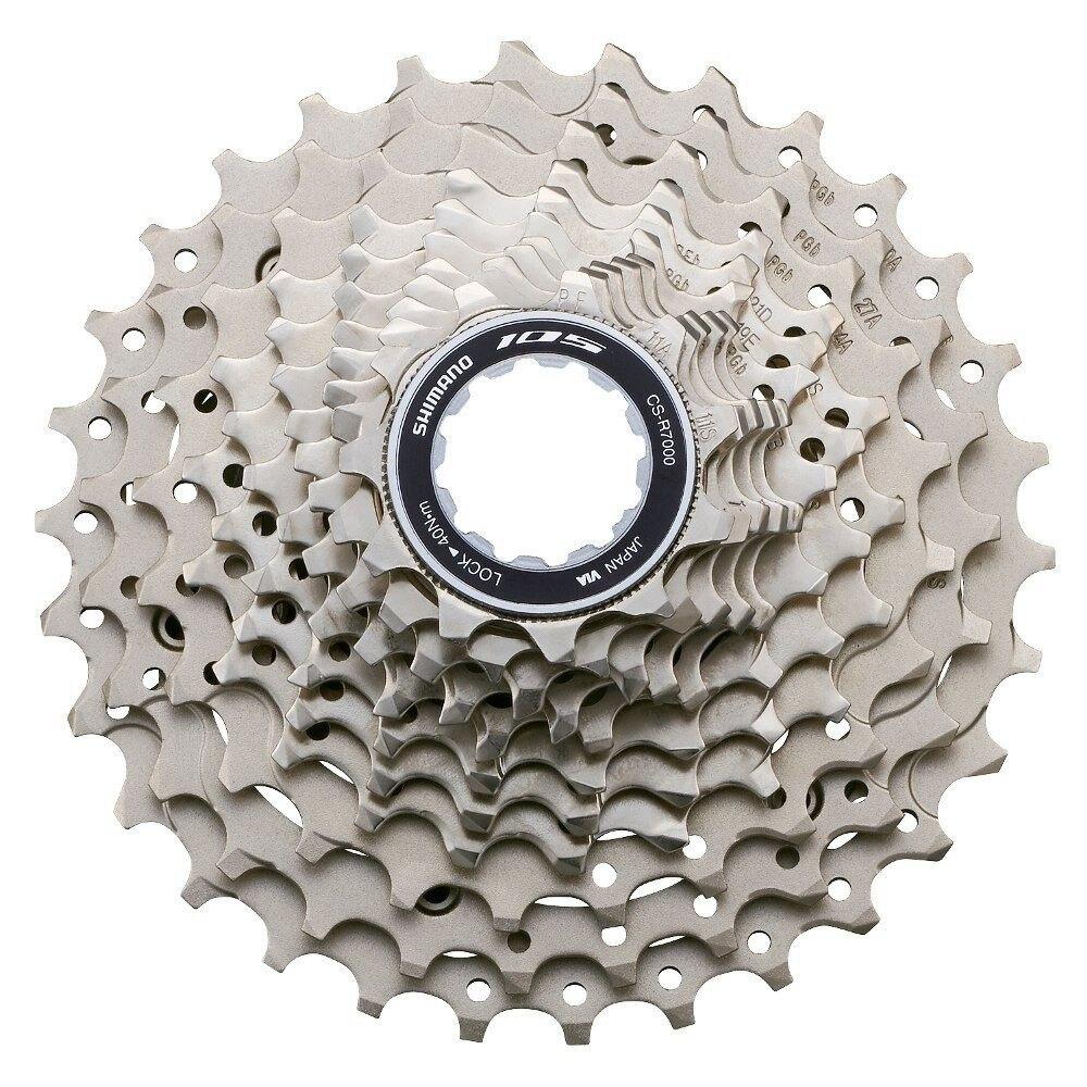 Shimano 105 R7000 11 velocidad bicicleta de carretera HG casete Sprocket rueda libre 12-25 T 11-28 T 11 -Actualización 30 T 11-32 T desde 5800