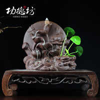 Yixing stoneware back aromatherapy incense before the Dutch creative back in the Moonlight cooker home incense