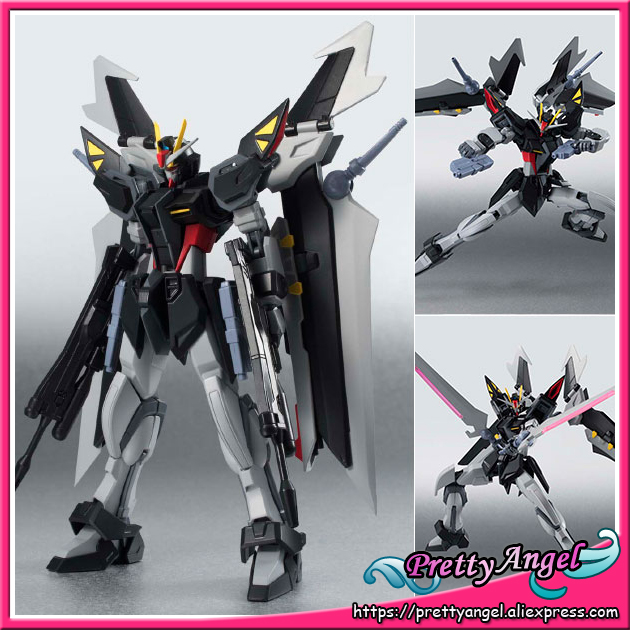 Japanese Anime Original Bandai Robot Spirits No.190 Mobile Suit Gundam SEED C.E. 73: Stargazer Action Figure - Strike Noir mobile robot motion planning