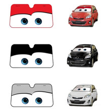 Cartoon Sunshade Window Foils Eye Pixar insulated Windshield Car Window Windscreen Cover Sun Shade Auto Sun Visor Car-covers
