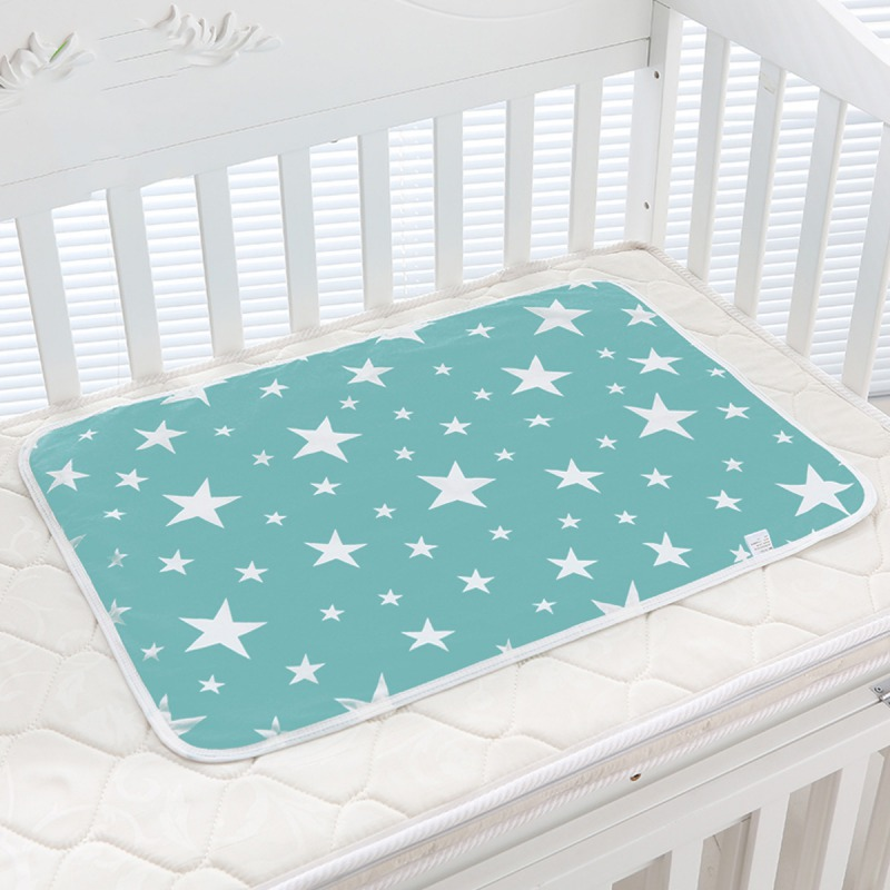 2018 Baby Portable Washable Changing Mat Infants Cute Waterproof Foldable Mattress Children Game Floor Reusable Diaper baby cotton changing mat portable foldable washable infants changing mat diaper pad changing pads