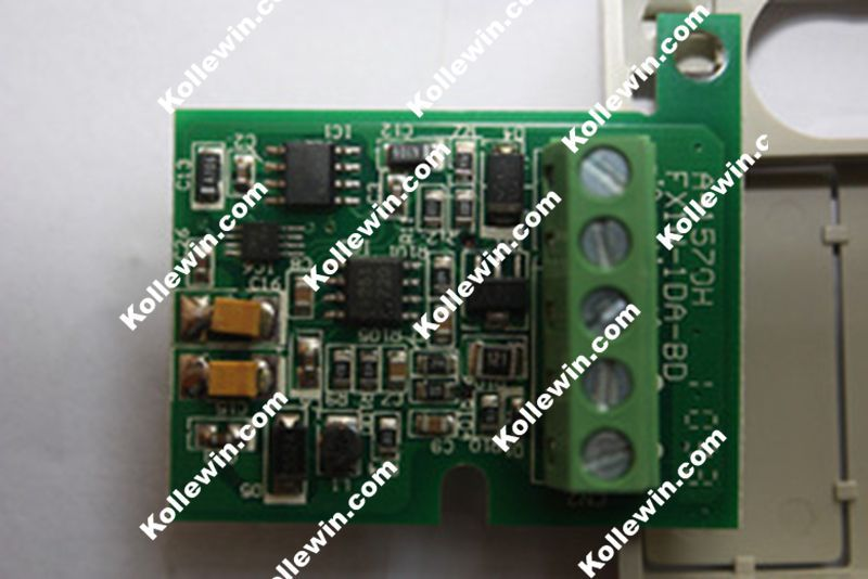 FreeShip FX1N-1DA-BD PLC 1Channel Analog Output Function Expansion Board, FX series FX1N-1DABD 1AO Communication Board,FX1N1DABD new fx3u 422 bd plc communication board