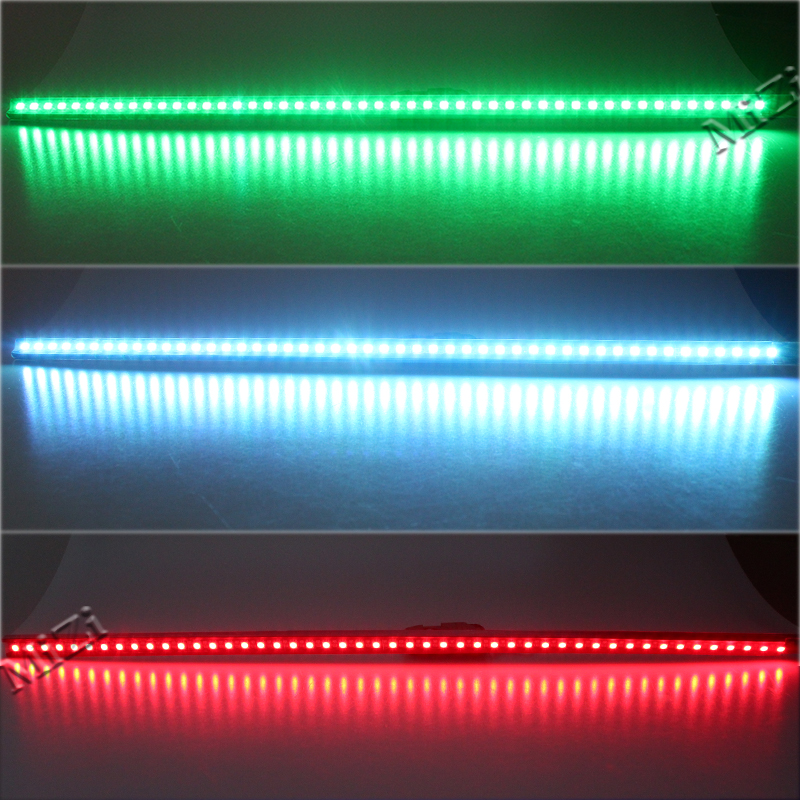 Best Quality 7-Color RGB 48-LED Knight Night Rider LED Strip Scanner Lighting Bars Wireless Remote Control best quality waterproof ip68 rgb multi color remote control induction charge led table light tubes