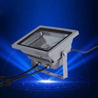 (10pcs/lot) AC24V 20W 30W 50W RGB DMX LED Flood Light Lamp Outdoor LED Floodlight Support DMX512 Control