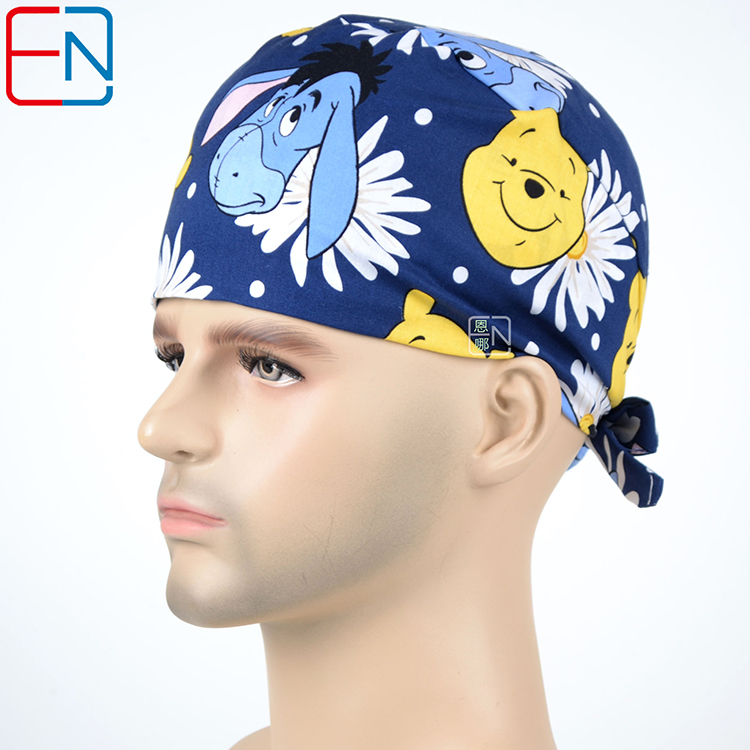 Home Medical OR Skull Scrub Caps Surgical Surgeons Surgery Hat