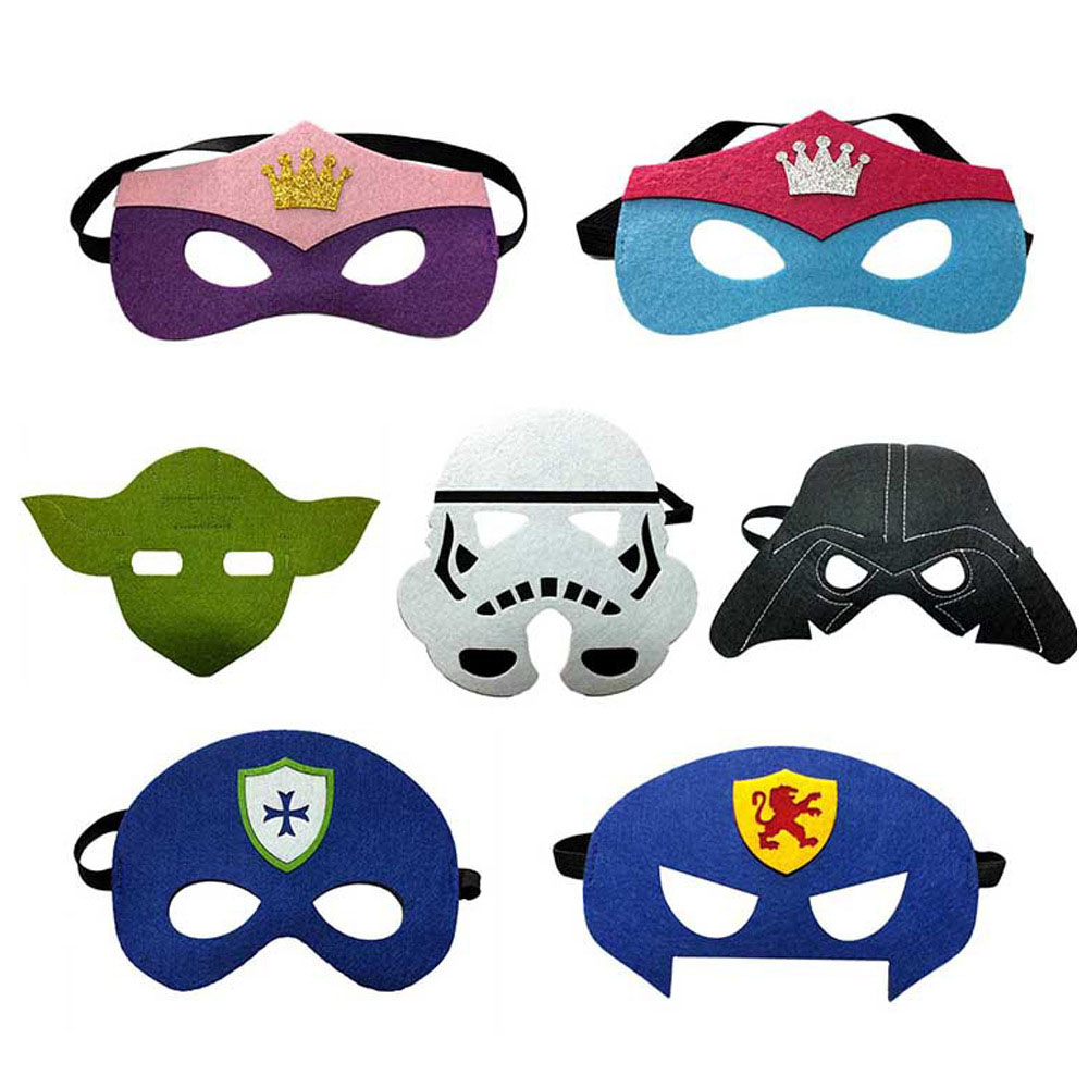 Star Wars Mask Kids Children Birthday Party Mask for Cosplay Dress up Costume Game Decoration Favor Gifts