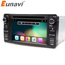 Eunavi Android 6.0 2din Car DVD Radio player For MITSUBISHI OUTLANDER 2013-2016 GPS For Outlander Pajero DAB+ wifi bluetooth swc
