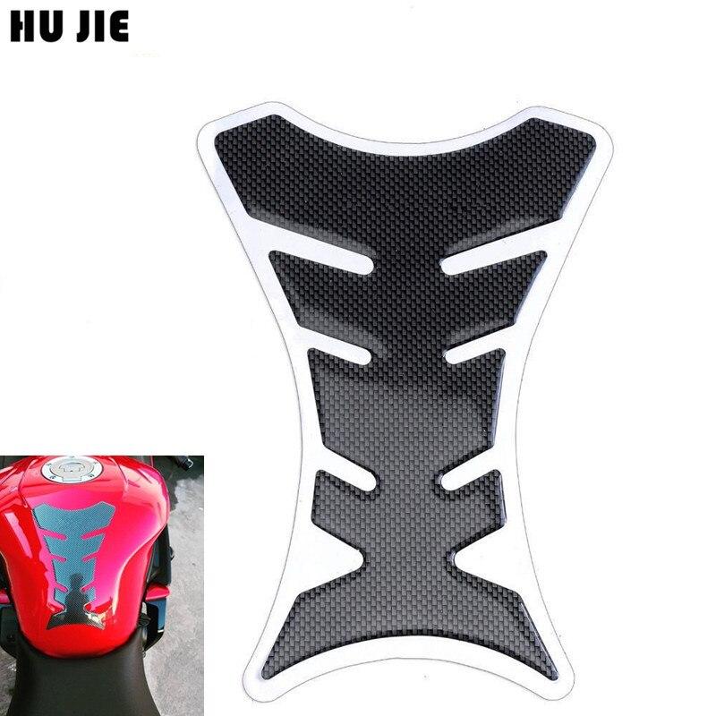 1 шт., мотоциклетные наколенники из углеродного волокна, Защитная Наклейка для Honda Yamaha Kawasaki Suzuki Ducati, универсальный Рыбий кости
