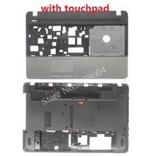 NEW case cover For Acer Aspire E1-571 E1-571G E1-521 E1-531 E1-531G Palmrest COVER with touchpad/Laptop Bottom Base Case Cover цена в Москве и Питере