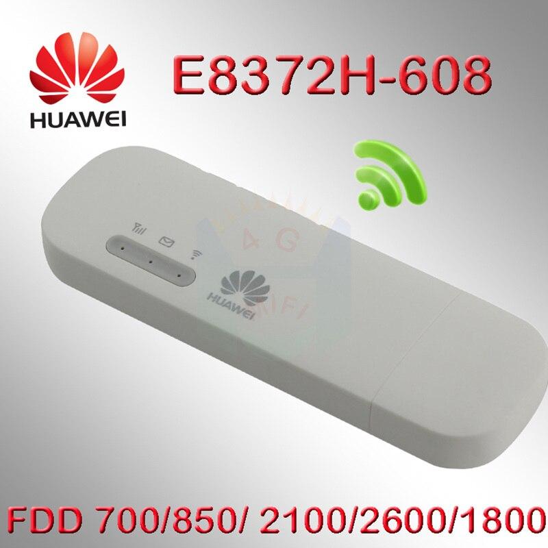 Unlocked  Huawei E8372  Multi Sim 4g Usb Modem Android 150Mbps Modem E8372s-608 4G Wifi Router 4G LTE Wifi Modem