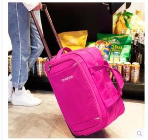 Image 4 - Mężczyźni bagaż podróżny torba kobiety Oxford walizka podróż Rolling torby na kółkach podróż Rolling torby biznesowa na kółkach torby na kółkach