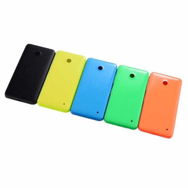 Pour Nokia Lumia 630 635 636 638 LCD affichage écran tactile panneau capteur numériseur verre + boîtier couvercle de batterie arrière + adhésif + outils