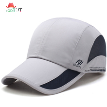 все цены на 2019 Fast-drying Baseball Cap New Spring Summer Hats Caps Men Outdoor Caps Mens Baseball Hat Sunshade Sun Hats