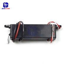 Dc 12v 15000v a 20000v 20kv impulso ajustável intensificar a ignição negativa do íon do módulo do igniter do gerador eletrostático de alta tensão