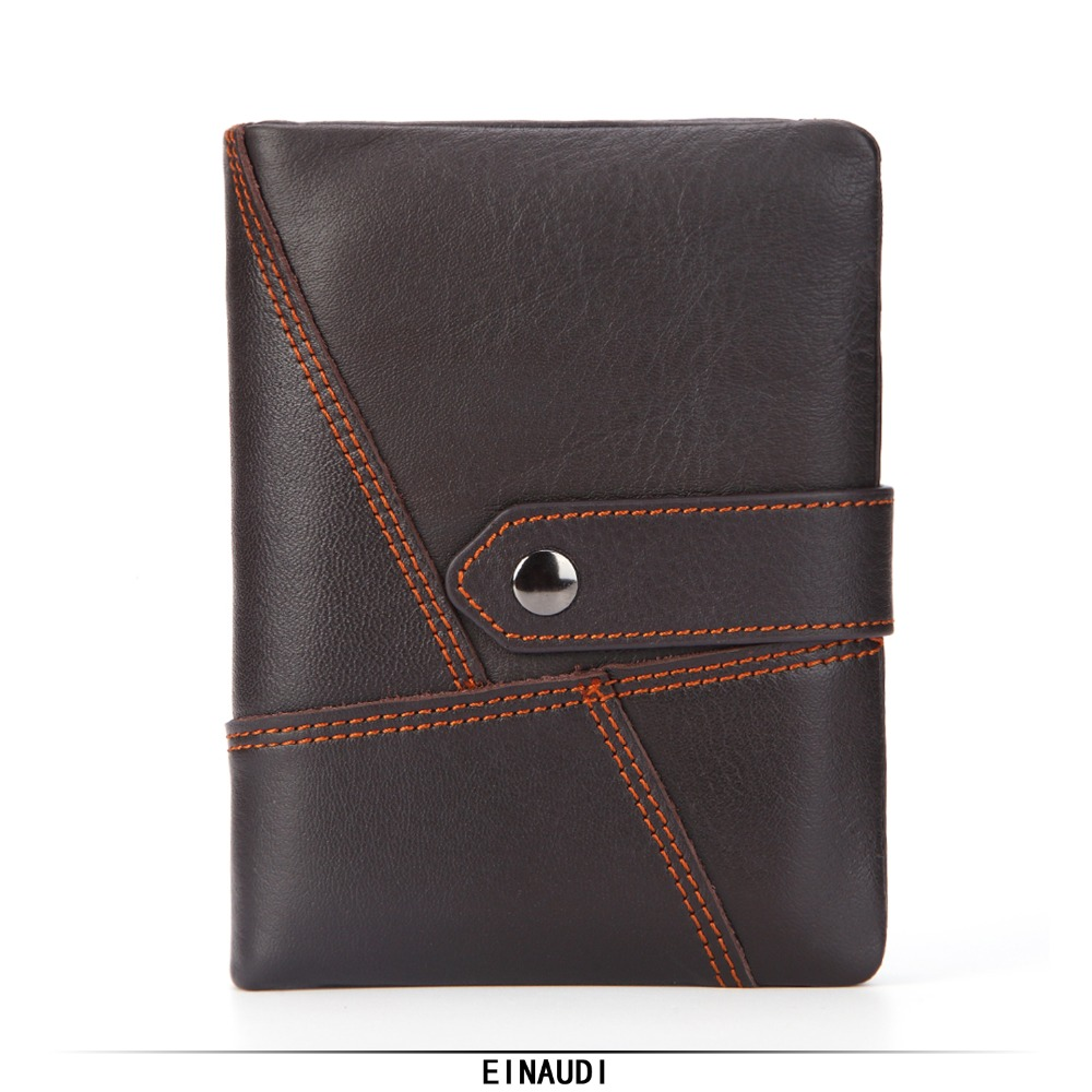 New Brand Men Wallet Male Genuine Leather Purse High Quality Cowhide Money Bag Man ID Card Holder Boy Coin Pocket Zipper Clutch