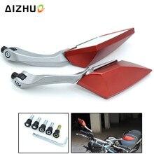 Motorcycle Accessories Rear View Side Mirrors for SUZUKI GSR 600 GSXR 750 1000 GSX-S750 SFV650 GLADIUS KTM Duke 125 200 390