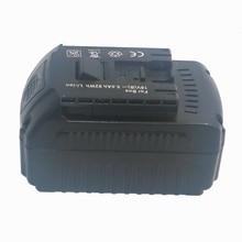 цена на High Quality 18V Lithium Ion 5000mAh Tools Battery for Bosch BAT609 BAT618 2607336169 BAT618G BAT609 Built-in Imported Batteries