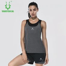 Women Gym Sports Sleeveless Shirts Tank Tops Fitness Running Clothes Loose Quick Dry Tops Vest Singlets