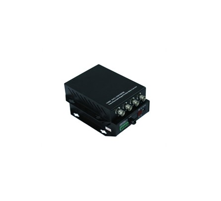 4ch Analog Optical Transmitter With 1ch Return Data(Single Mode, Single Fiber 40KM, FC)